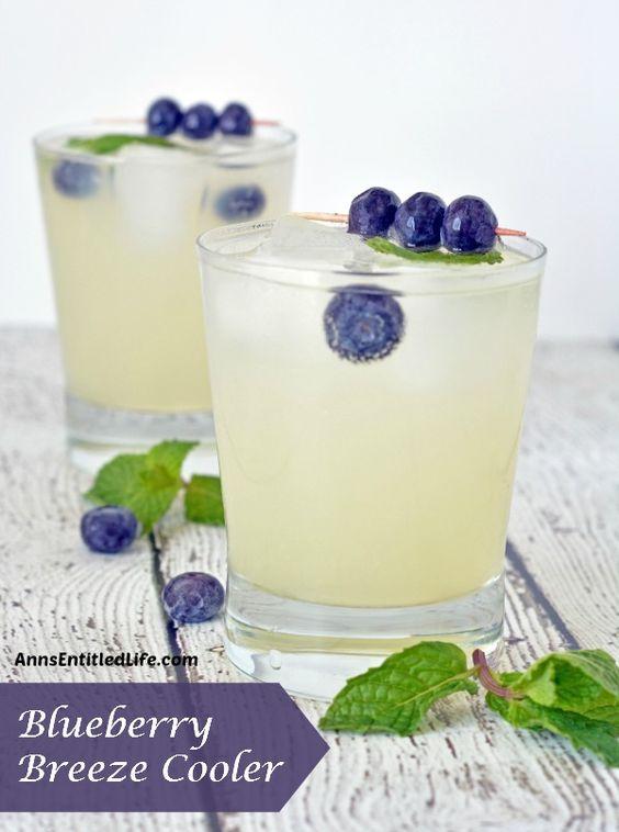 Blueberry Breeze Cooler