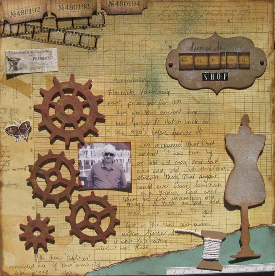 Spencer St Curios Shop - Scrapbook.com