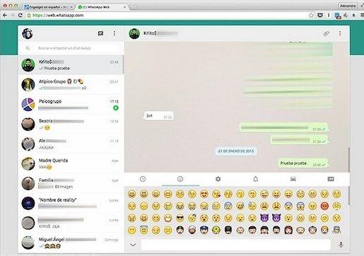 WhatsApp Web recibe una nueva actualización
