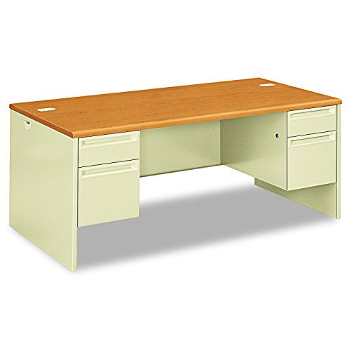 Hon Double Pedestal Desk 72 By 36 By 2912inch Harvestputty Click For Special Deals Christmasgifts Double Pedestal Desk Pedestal Desk Desk