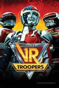 Vr Troopers With Images Super Samurai Vr Troopers Power Rangers