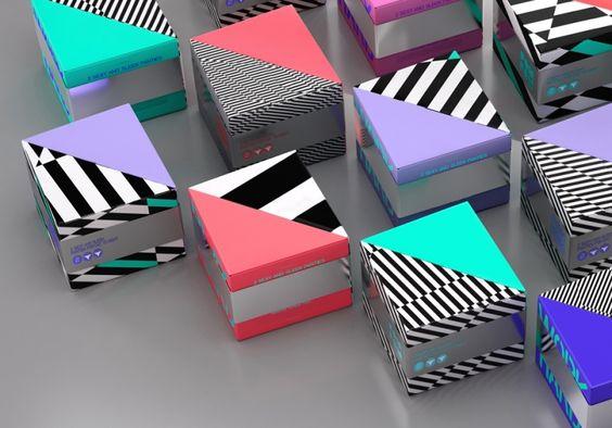 Bright and bold packaging design matches fun LA lingerie brand | Creative Boom