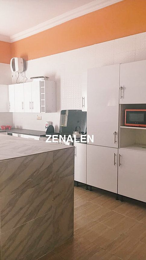 Kitchen Design Minimal And Vibrant Interior In A Nigerian Home Zenalen Kitchen Design Kitchen Minimalism