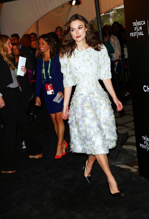 "Keira Knightley @ the 2014 Tribeca Film Festival Closing Night Gala Premiere of ""Begin Again"" 