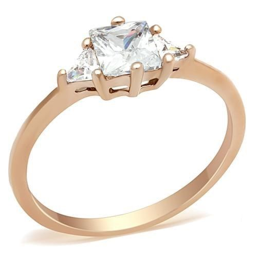 Yourjewellerybox TK1673 MARQUISE SOLITAIRE ENGAGEMENT SIMULATED DIAMOND RING WOMENS STEEL GOLD nhbMBxXP