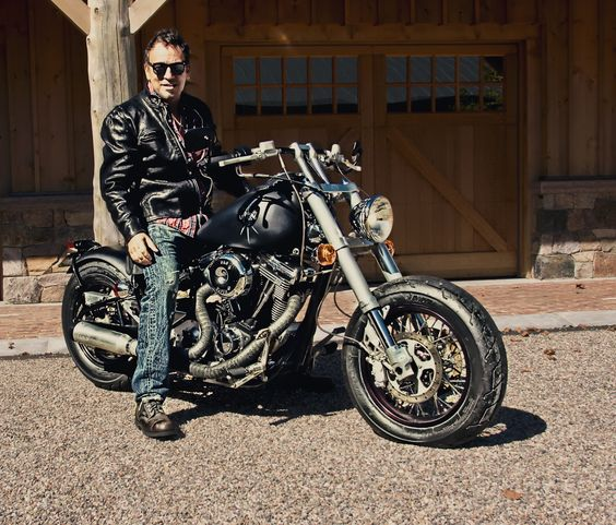Image result for bruce springsteen motorcycle