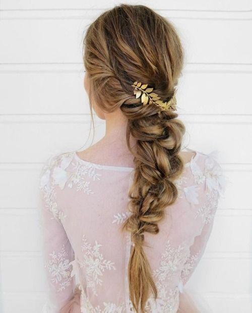 Messy Braid Boho Braid Tumblr Hair Tumblr Braids Hairstyles 2018 Wedding Hair Hair Goals Hair Styles Boho Braids Long Hair Styles