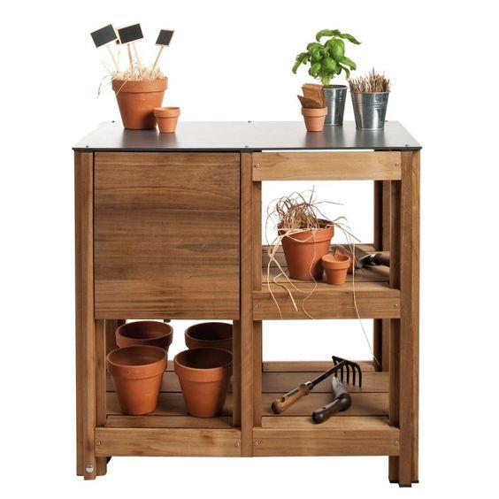 Table de jardin mutli-fonctions - Mobilier jardin – Achat/Vente meuble jardinage - Mobilier extérieur