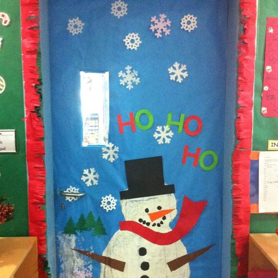 Christmas Decoration Classroom: Seasons, Inside Doors And Door Ideas On Pinterest