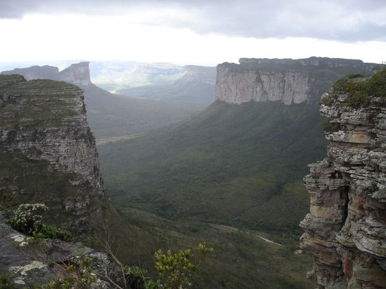Vista do alto do Morro do Pai Inácio, uma das formações mais visitadas da Chapada Diamantina.