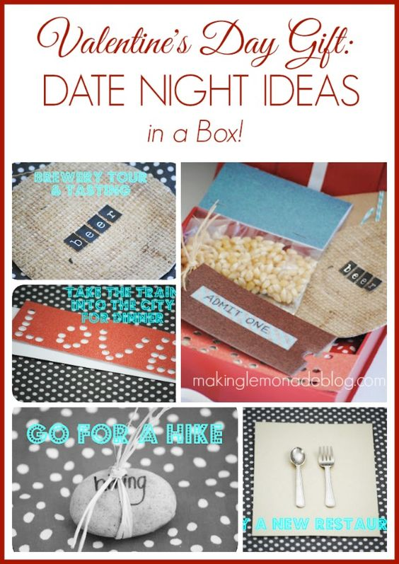 valentine's day date box