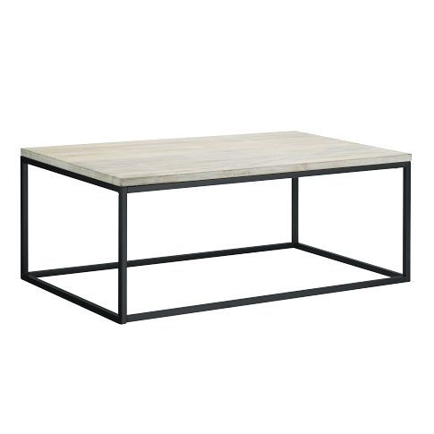$349 at West Elm.  Box Frame Coffee Table | west elm.  Simple, clean, works with so many different styles.