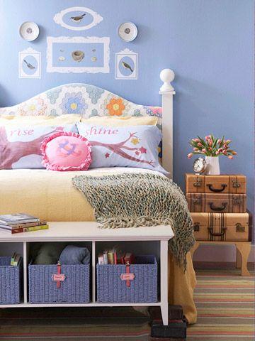 Storage-Savvy Bedroom