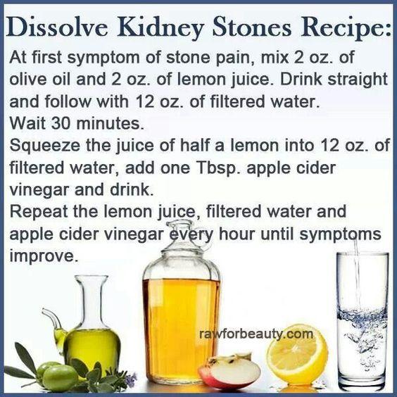 Kidney Stones Kidney Stone Remedy And Stones On Pinterest