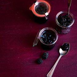 blackberry & mulberry jam