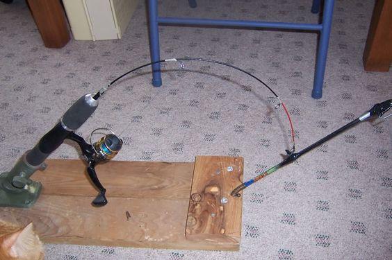 Ice fishing ice fishing rods and fishing rod holders on pinterest
