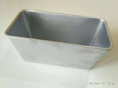 Natural Aluminum Commercial Loaf Pan For Baking Bread By