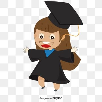 Graduate Student Design Student Clipart Graduate Students Exquisite Originality PNG and Vector with Transparent Background for Free Download Graphic design background templates Design student Graduation cartoon
