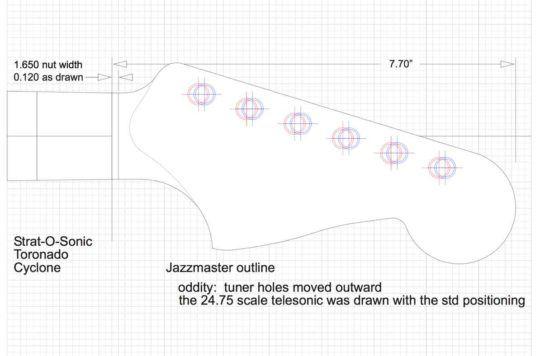 Fender Jazzmaster Guitar Templates Electric Herald Templates Fender Guitar