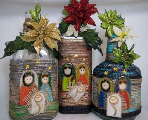 Pinterest the world s catalog of ideas - Botellas de plastico decoradas ...