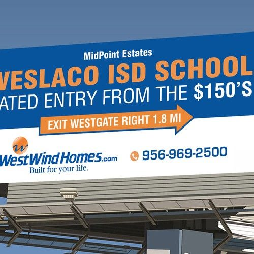 Real Estate Billboard 14 X 48 Signage Contest Design Signage Winning Tpalacios