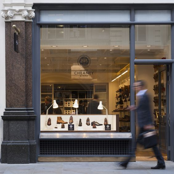 001 Joseph Cheaney - Storefront