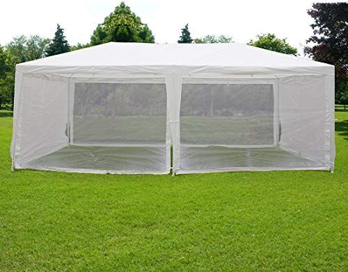 Amazing Offer On Quictent 10 X20 Outdoor Canopy Gazebo Party Wedding Tent Screen House Sun Shade Shelter Fully Enclosed Mesh Side Wall Online