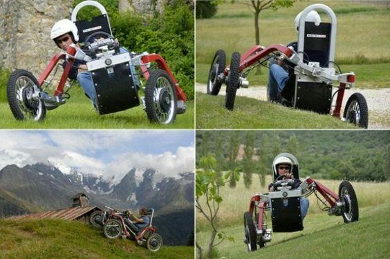 Swincar E-Spider. Un coche araña eléctrico con ruedas