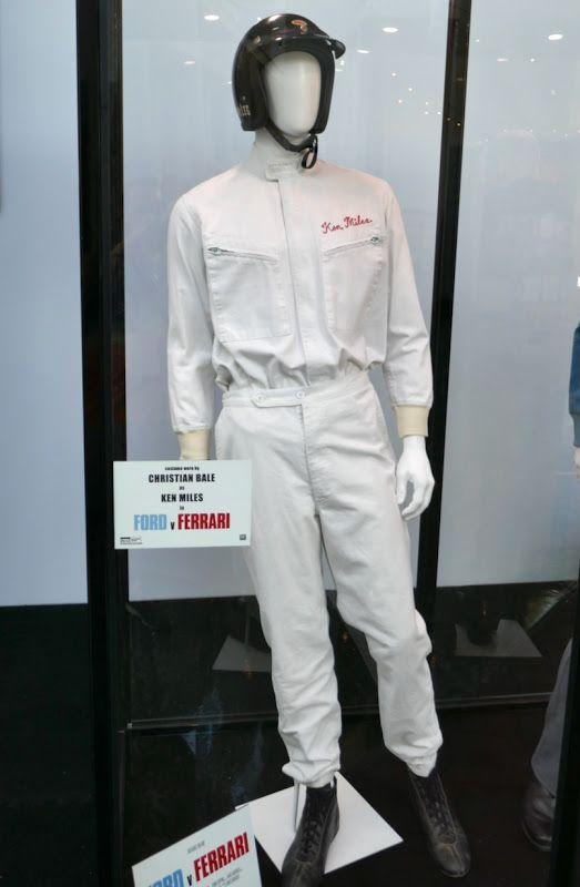 Christian Bale Ford V Ferrari Ken Miles Movie Costume Christian