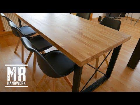 1 2 Designer Tisch Selber Bauen Ausfuhrliche Anleitung Youtube Holztisch Selber Bauen Tisch Selber Bauen Design Tisch