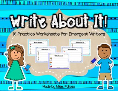 Write About it! - Writing Practice for Emergent Writers