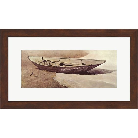Andrew Wyeth 'Spindrift' Framed Art