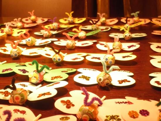 Φτιάξαμε γλειφιτζούρια πεταλούδες! - Eimaimama.gr