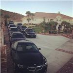 When ur in the high desert and you see this many BMWs at one house. Aren't you the least bit interested?  Sign up to sell Limu at this link and join the black Beemer crew! Start drinking Limu and ull look just as hot as the car ur Rollin in <3