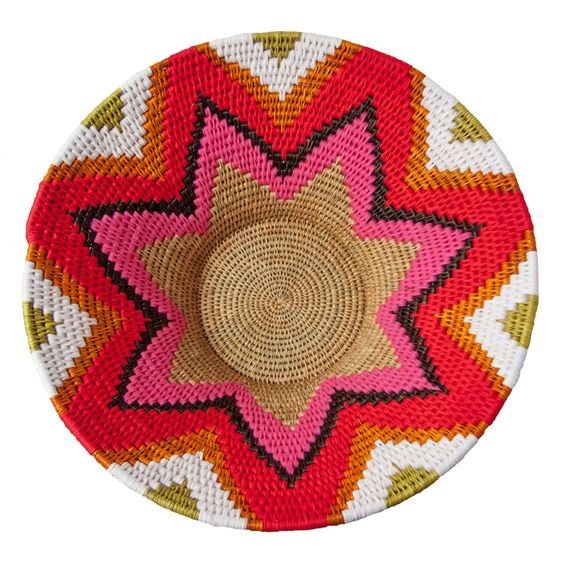 Swazi Basket (extra large) - African Designed from online store Safari Fusion