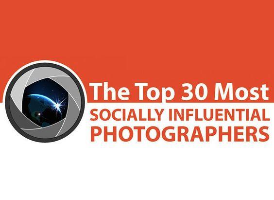 Le top 30 des photographes à suivre sur les réseaux sociaux