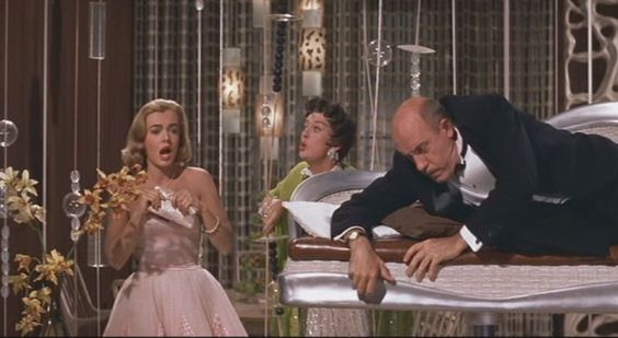 Auntie Mame, still a holiday favorite despite its bizarre depiction of an Asian servant.: