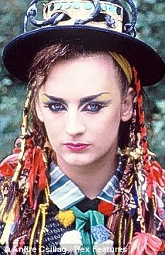 Boy George, 1980s. Great Singer. My Personal favourite - Victims. Beautiful song