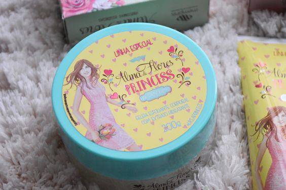 Coleção Alma de Flores Princess: muito amor pela linha especial Alma de Flores Princess, que cheirinho bom tem essa coleção de banho!