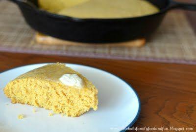 Old Fashioned Corn Bread - Seriously Good Stuff  {family, food & fun}