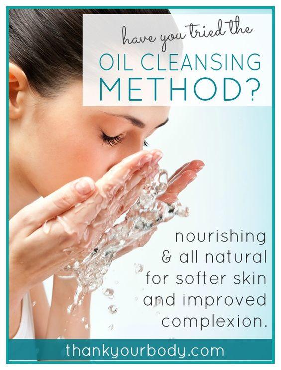 Have you tried the oil cleansing method? - Olivenöl/Rizinuswurzelöl/Mandelöl/Kokosnussöl einmassieren, mit heißem Waschlappen abnehmen - fertsch