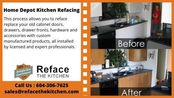 Our Team Can Provide You With A Vast Range Of Options If You Are In A Search Of Home Depot Kitchen Refacing Kitchen Refacing Home Depot Kitchen Old Cabinets