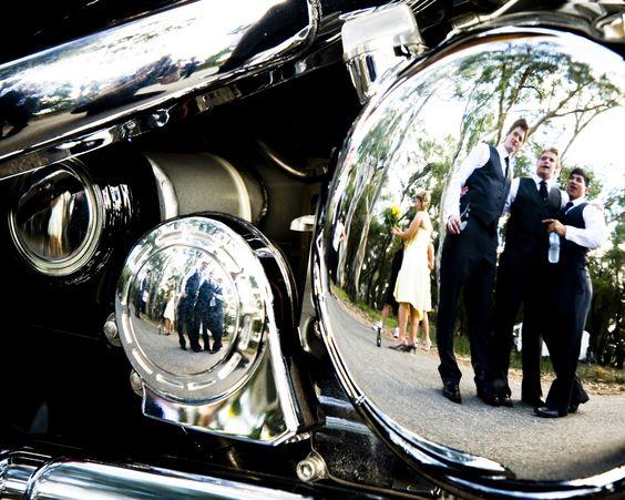 Harley Davidson Wedding: Harley Davidson, Country Weddings And Bridal Parties On