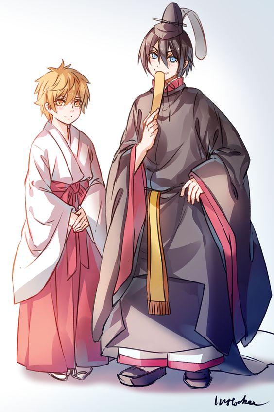 Yato (Noragami), Yukine (Noragami)