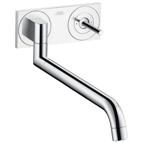 Axor Uno² Einhebel-Küchenmischer Unterputz 38815000 - MEGABAD   für 307,26 + ca 110 Euro für den Grundkörper