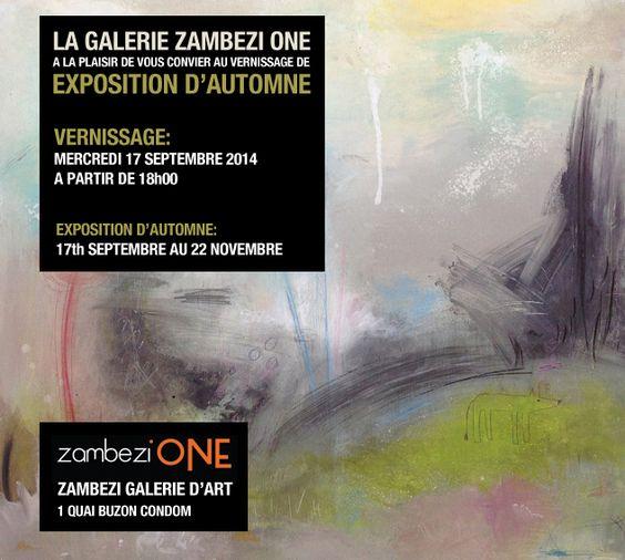Autumn Exhibition starting on Wednesday at Zambezi One Condom