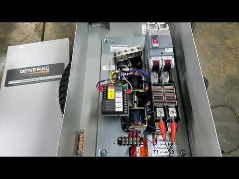 Generac Generator Automatic Transfer Switch In 2020 Transfer Switch Generator Transfer Switch Generator House