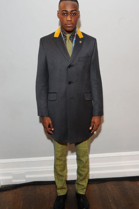 LOOK | 2015-16 FW LONDON MEN'S COLLECTION | THOMAS PINK | COLLECTION | WWD JAPAN.COM