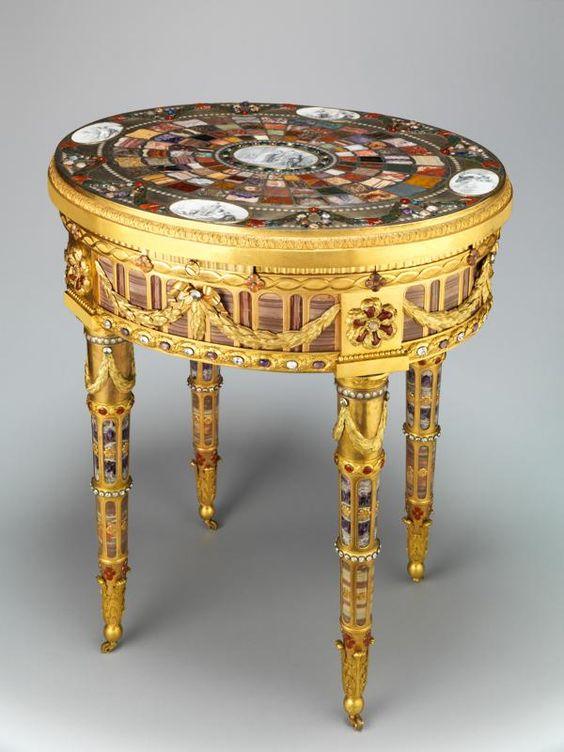 La table de Teschen, soon @ MuséeDuLouvres ?!