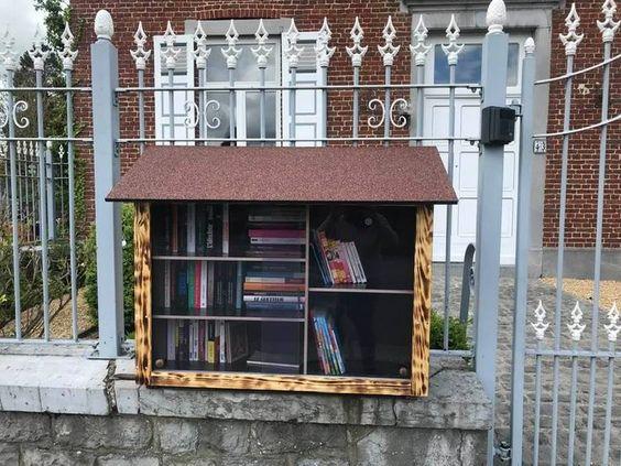 boîte à livres Somzee Walcourt